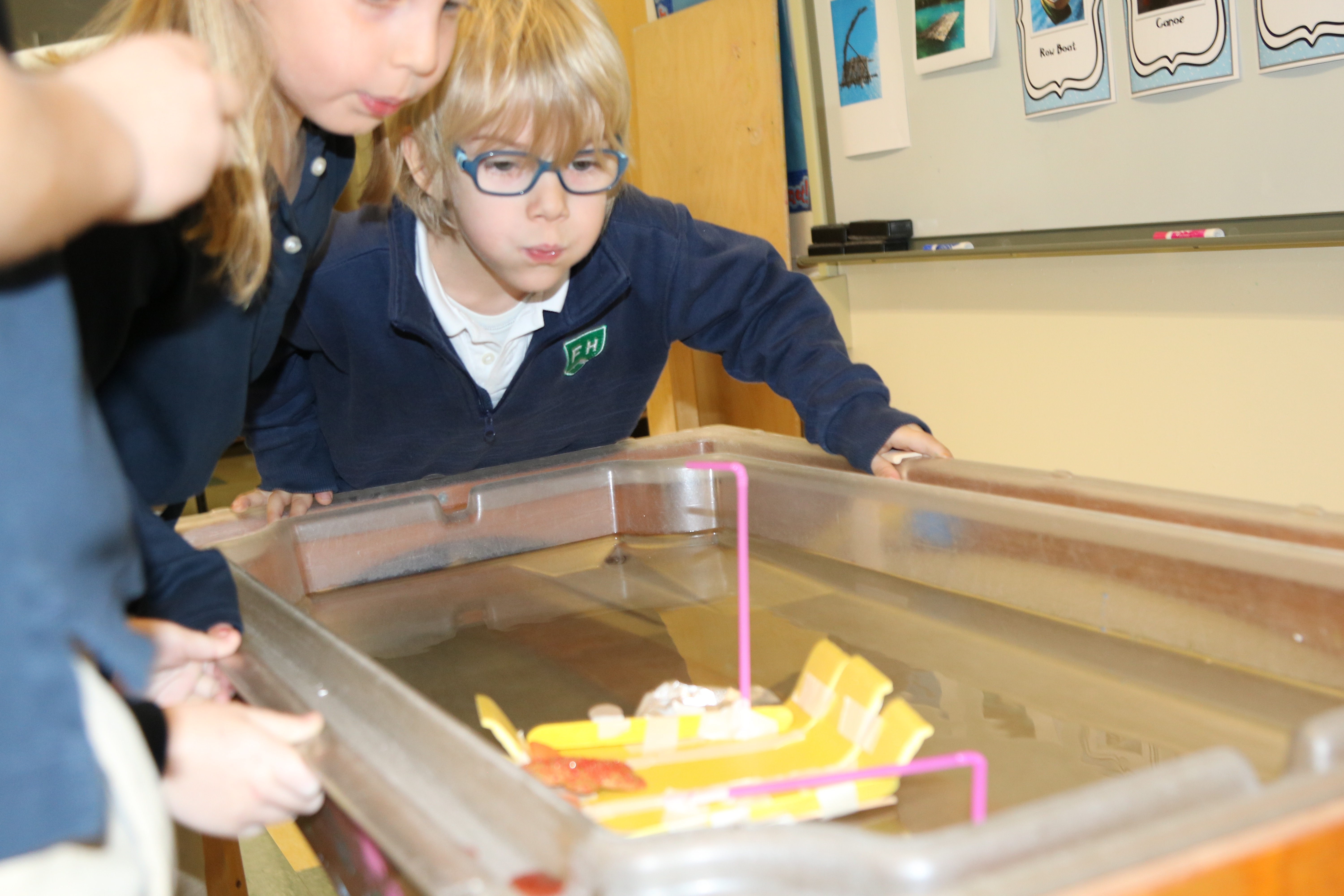 Kindergarteners Put Icing on the Cross-Curricular Gingerbread Project with S.T.E.A.M. Boat Experiment