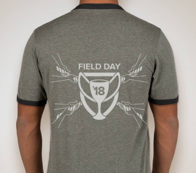 Falcons field day t-shirt design