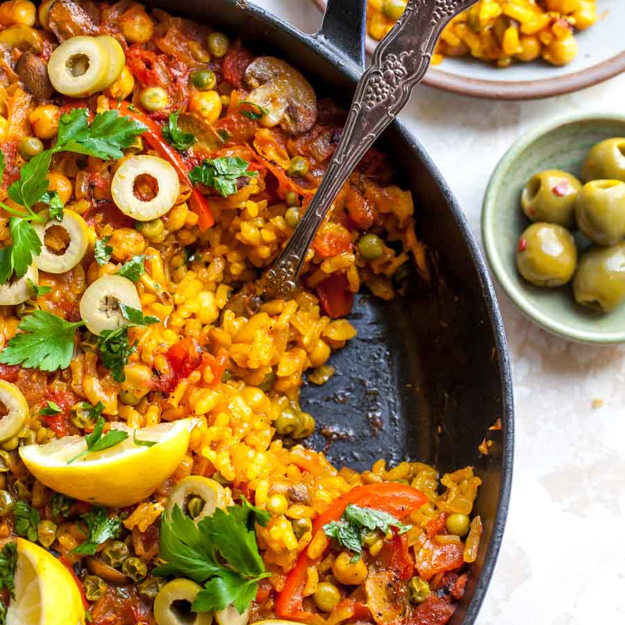 Make Vegetable Paella with Far Hills