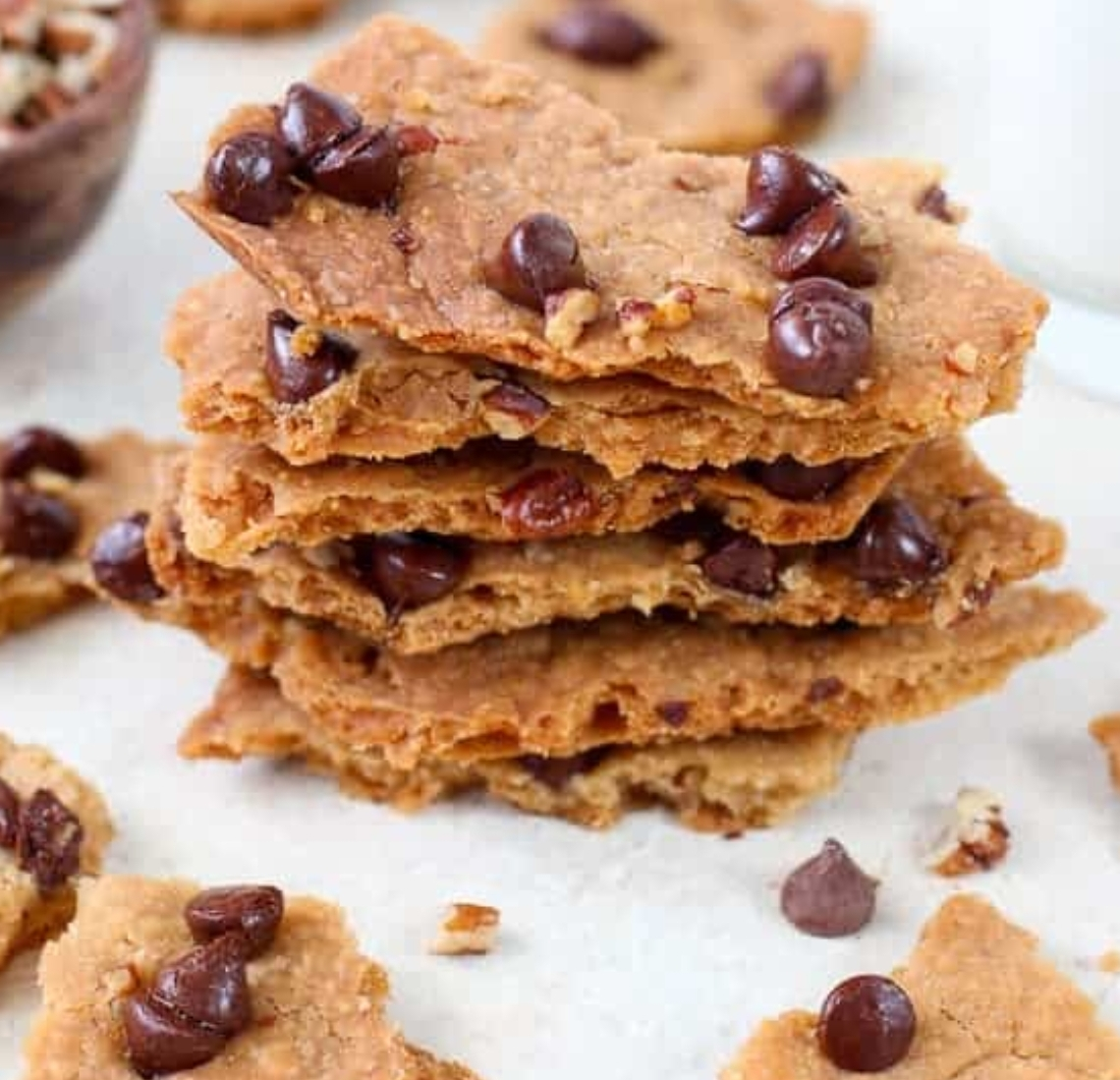 Make Chocolate Chip Brittle with Far Hills