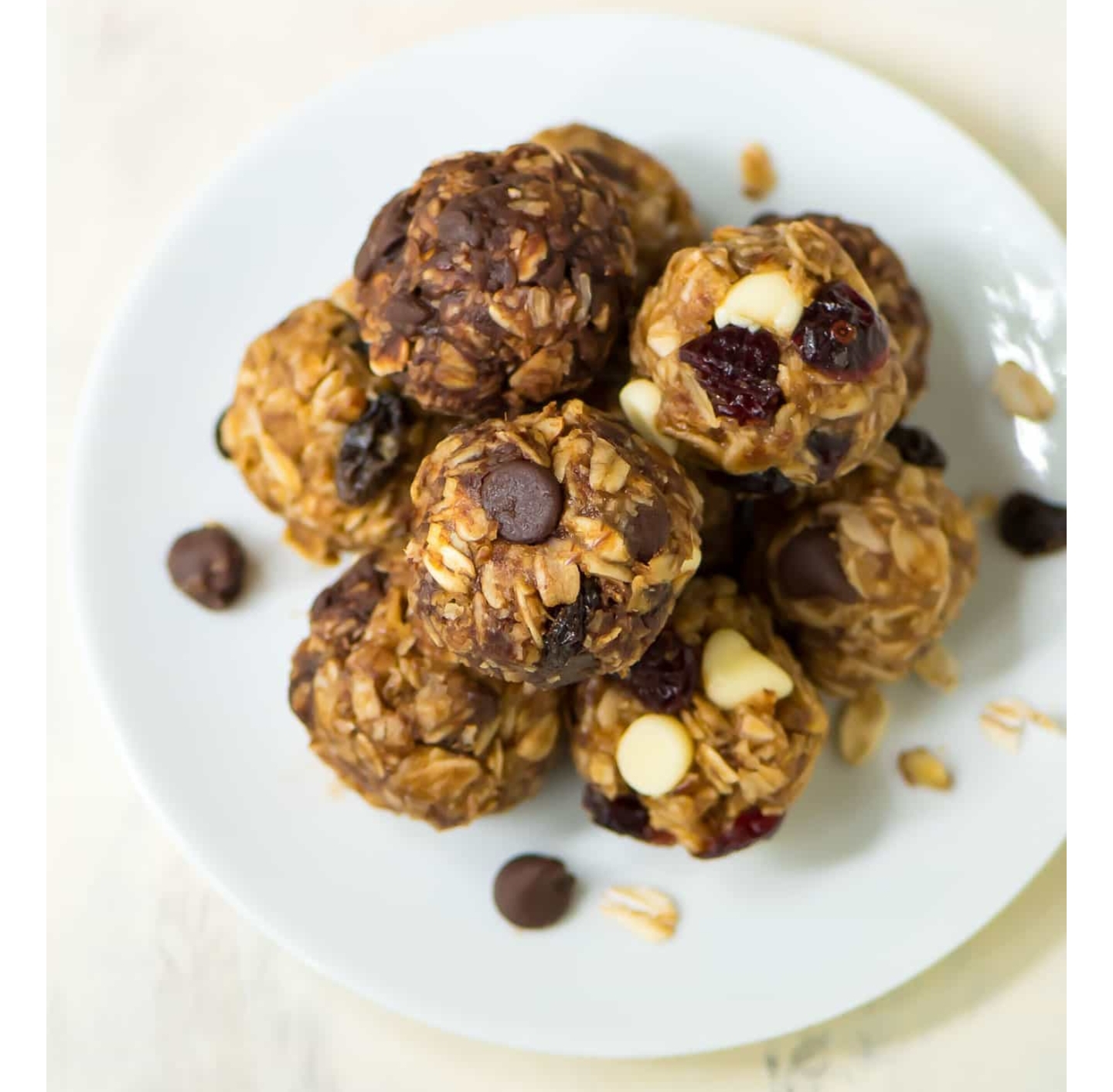 No-Bake Oatmeal Energy Balls from Far Hills